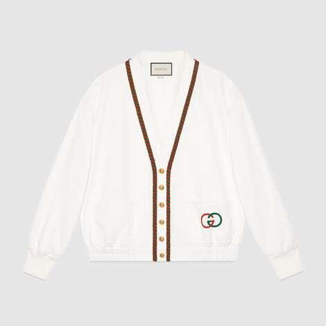 平纹针织开衫