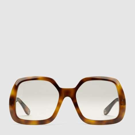 方形镜框醋纤太阳眼镜
