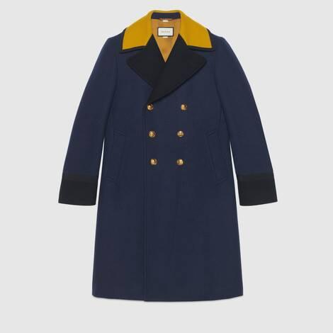 羊毛毛毡大衣
