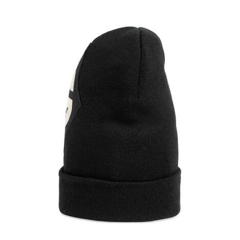 G 菱形贴饰羊毛帽