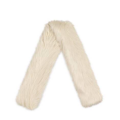 环保毛皮围巾