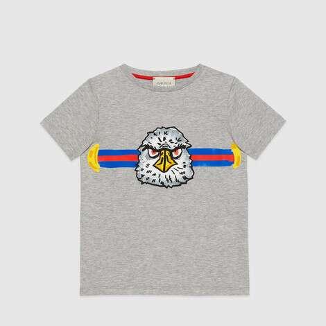 儿童雄鹰印花 T 恤