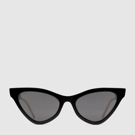猫眼造型镜框醋纤太阳眼镜
