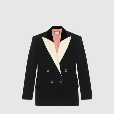 真丝羊毛礼服式夹克