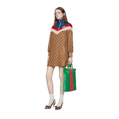 GG平纹针织连衣裙