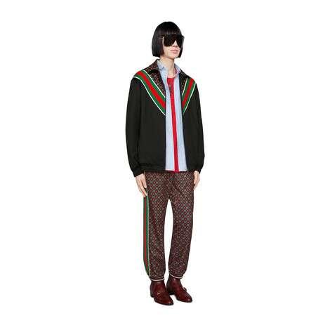 饰 GG 星星超大造型针织夹克