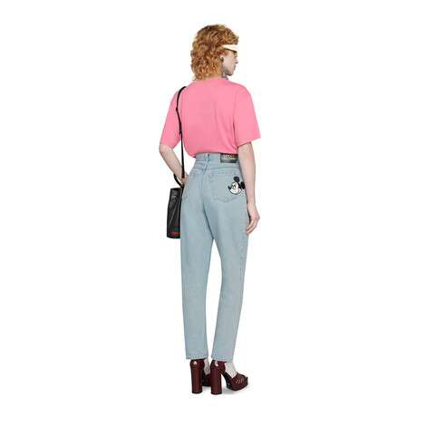 Disney x Gucci 80年代风牛仔裤