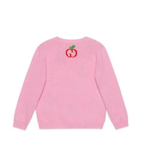 儿童GG苹果羊毛衫