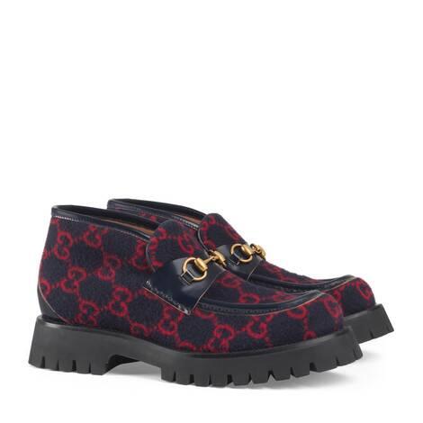GG羊毛踝靴