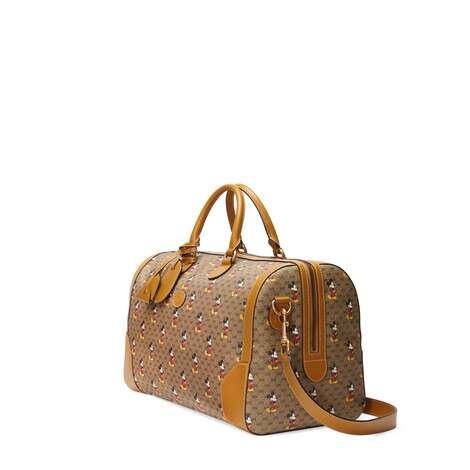 Disney x Gucci中号行李袋