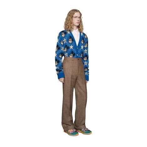 Disney x Gucci羊毛开衫