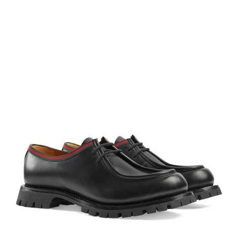 男士系带鞋