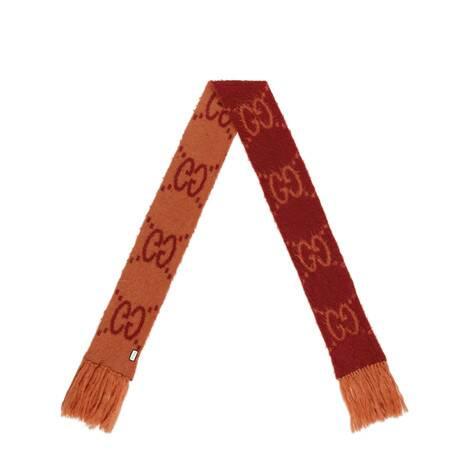 GG马海毛羊毛混纺围巾