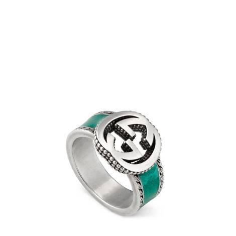 互扣式双G戒指