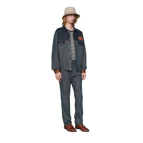 GG Denim系列GG标识牛仔裤