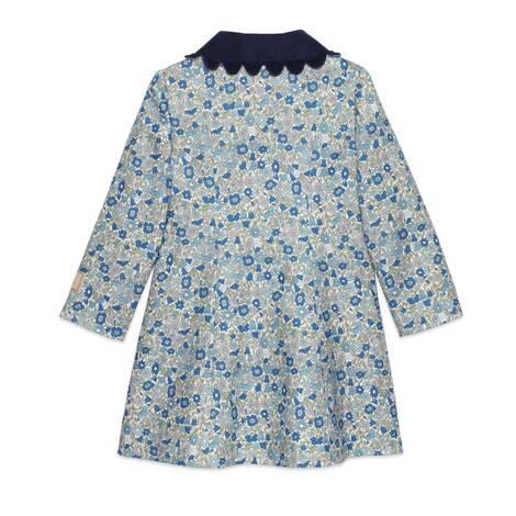 儿童Gucci Liberty花卉印花大衣