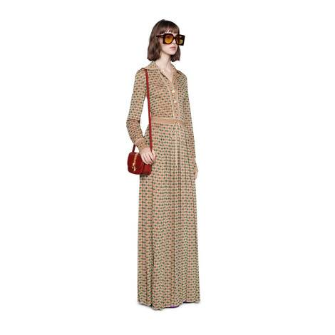 Sylvie 1969系列蟒蛇皮迷你肩背包