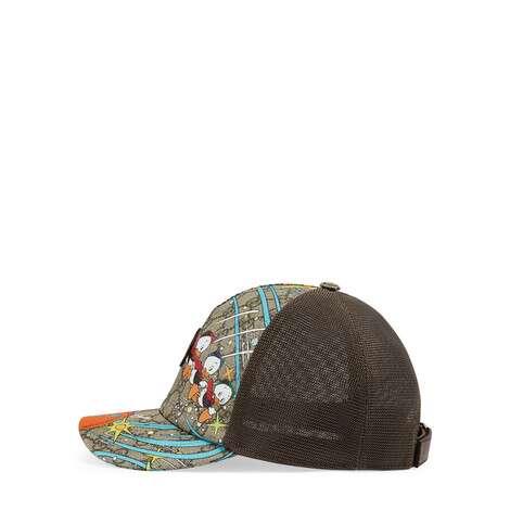 Disney x Gucci唐老鸭印花棒球帽