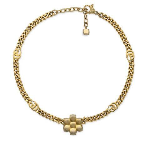 珍珠雙G項鏈