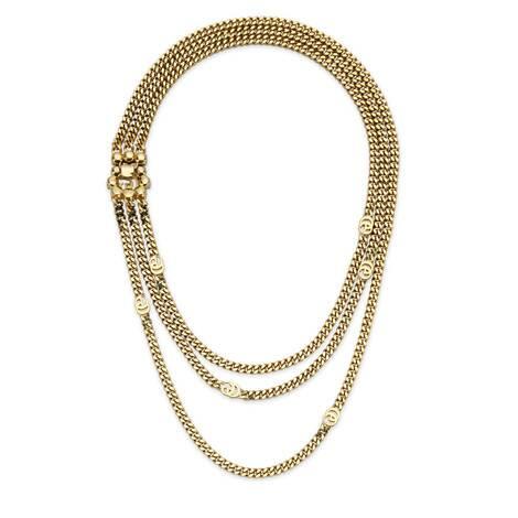 珍珠雙G多層項鏈