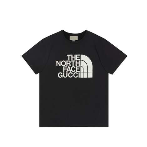 The North Face x Gucci联名系列棉质T恤