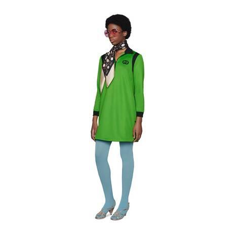 平纹针织连衣裙