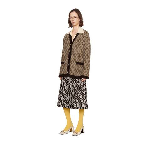 羊毛GG针织开衫
