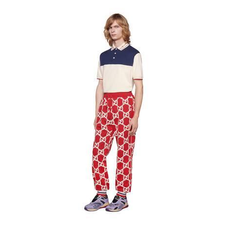 刺绣衣领棉质Polo衫