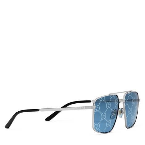 饰GG图案飞行员太阳眼镜