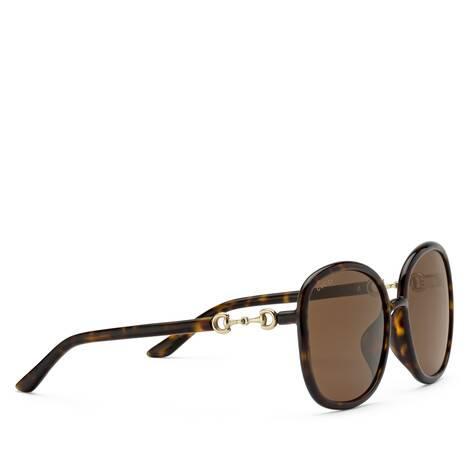 貼合設計圓形鏡框太陽眼鏡