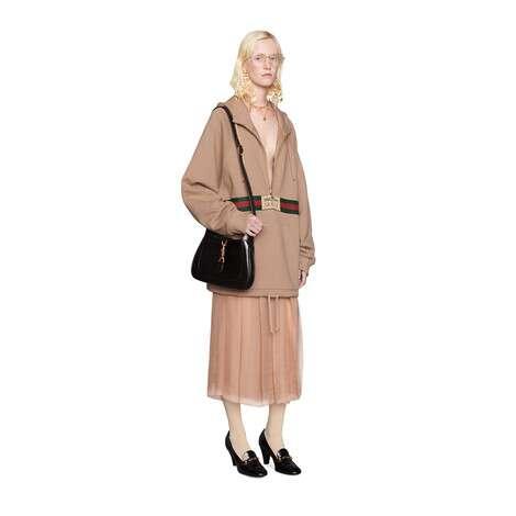 真丝雪纺中长半身裙