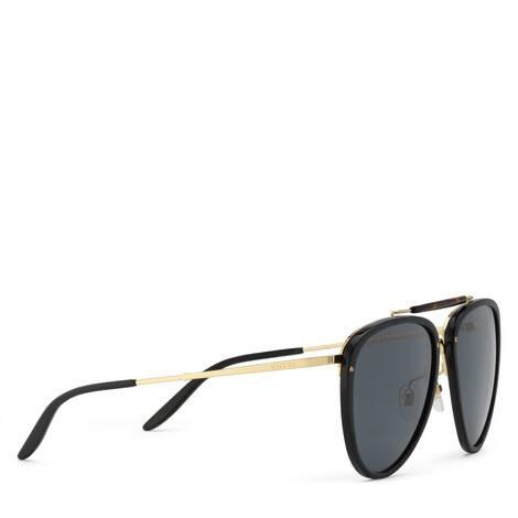 金属镜框飞行员太阳眼镜