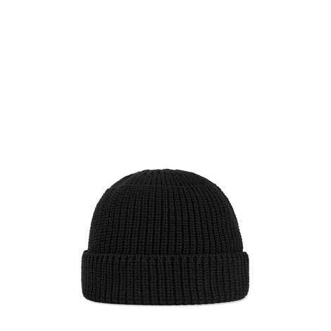 饰互扣式双G棉质针织帽