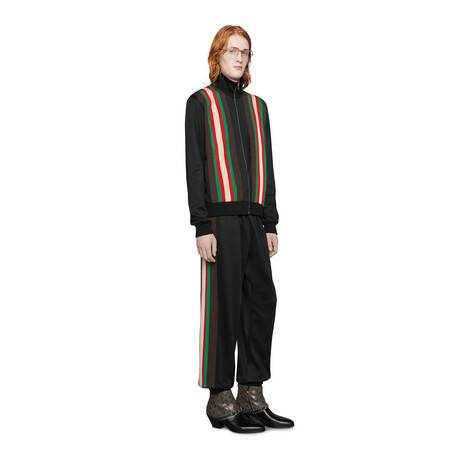 平纹针织拉链夹克