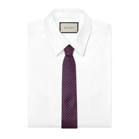 波点和双G领带
