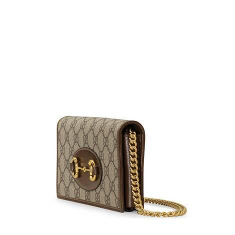 Gucci 1955马衔扣链带钱包