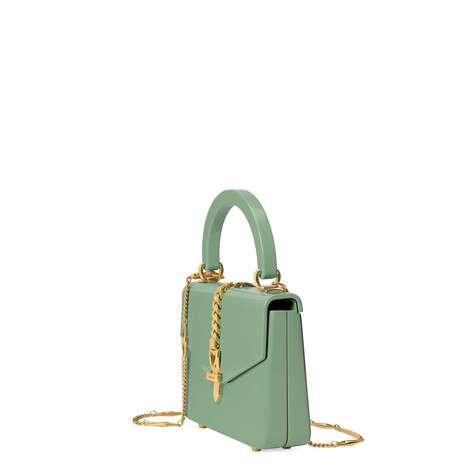Sylvie 1969系列亚克力材质迷你手提包