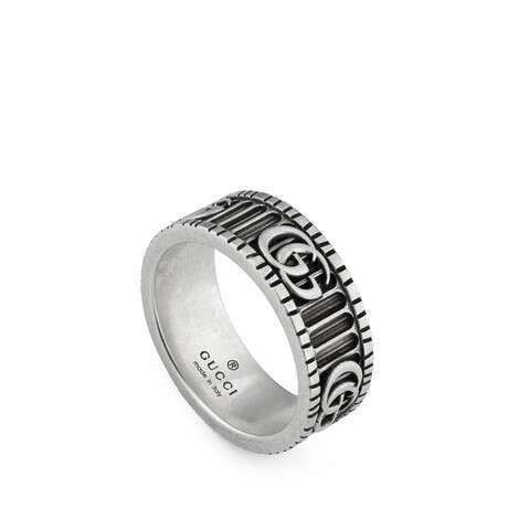 双G纯银戒指