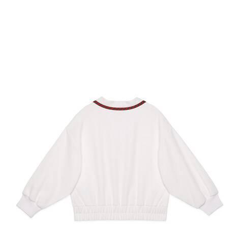 儿童平纹针织夹克