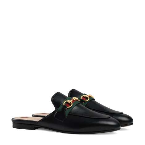 Princetown系列女士皮革拖鞋