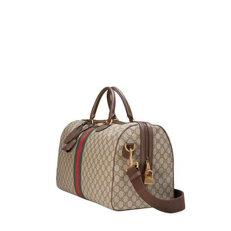 Ophidia系列中号GG行李袋