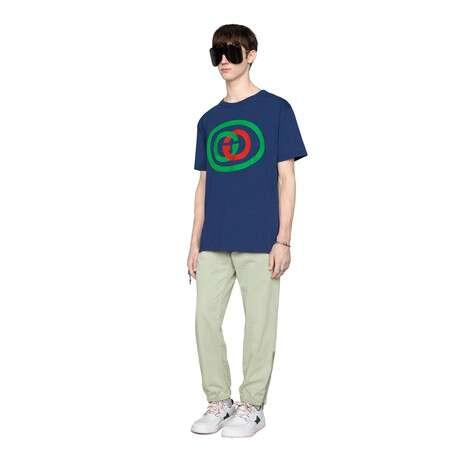 互扣式双G超大造型T恤