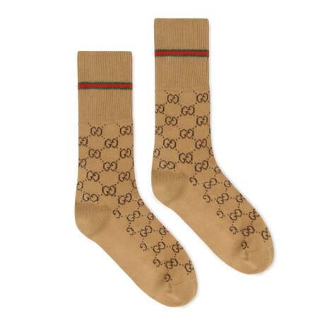 饰织带GG棉袜
