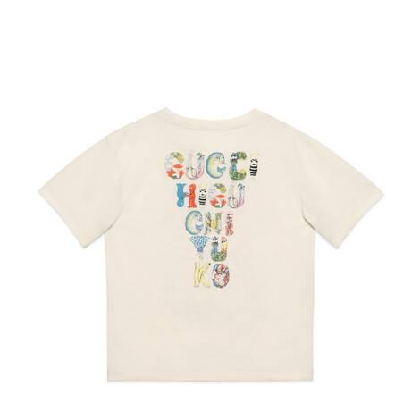 儿童樋口裕子印花棉质T恤
