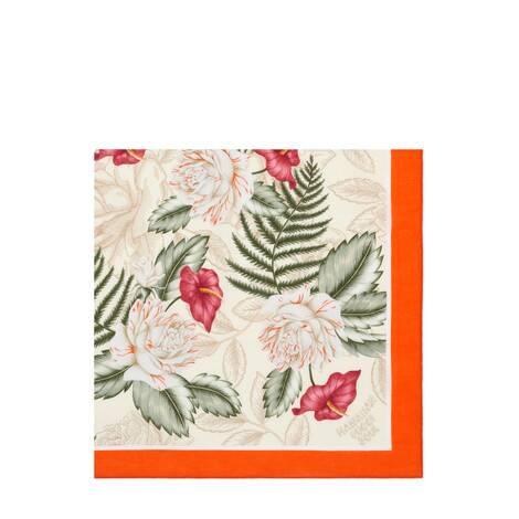 夏威夷风格印花棉质围巾