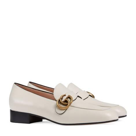 女士双G乐福鞋