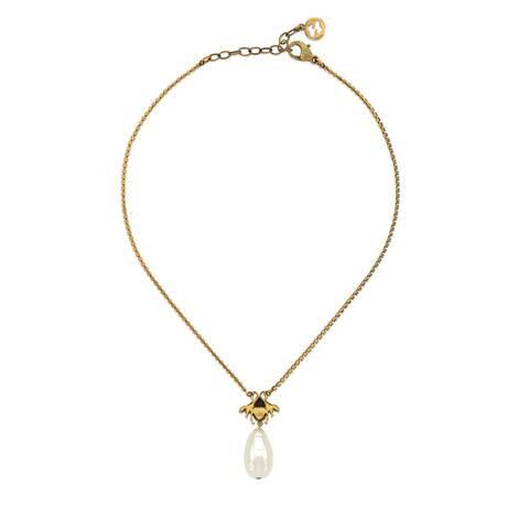 饰珍珠蜜蜂项链
