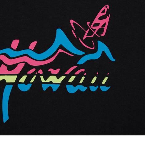 """Gucci Hawaii""男士超大造型T恤"