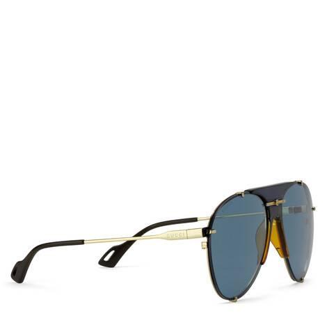 金属飞行员太阳眼镜
