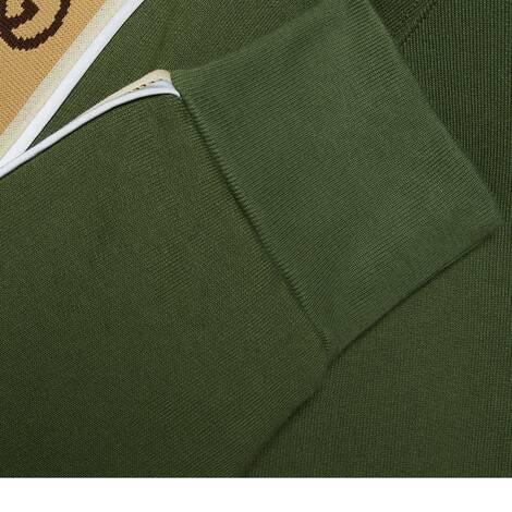 针织棉连帽卫衣
